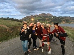 Teen gang.